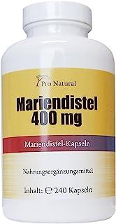 Pro Natural – Extracto de cardo mariano (400 mg, 80% silimarina, 240 cápsulas)