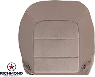 Richmond Auto Upholstery - Driver Side Bottom Replacement Cloth Seat Cover, Tan (Compatible with 2003-2006 Ford Expedition XLT) (Tan Medium Parchment)