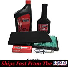 Alamia,Inc. Genuine Honda OEM Parts, Maintenance Tune Up Kit, for Honda EU7000iS Generators, Air Filters, Engine Oil, Spark Plug,