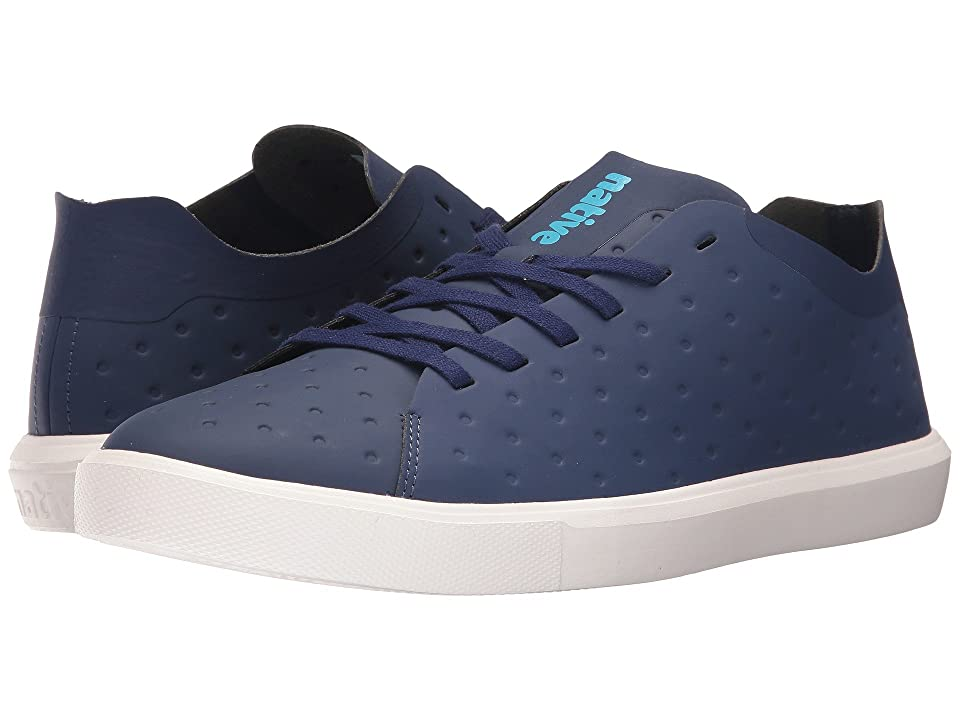 Native Shoes Monaco Low (Regatta Blue CT/Shell White) Lace up casual Shoes