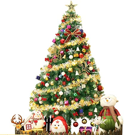Addobbi Albero Di Natale.Addobbi Natalizi Set Albero Di Natale 1 5 Metri Set Di Alberi Di Natale Criptati Piccole Stelle Di Lanterna Color Multi Colored Amazon It Casa E Cucina