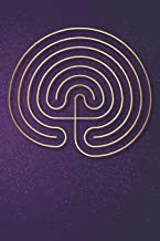 Labyrinth Journal: Classical labyrinth lined notebook