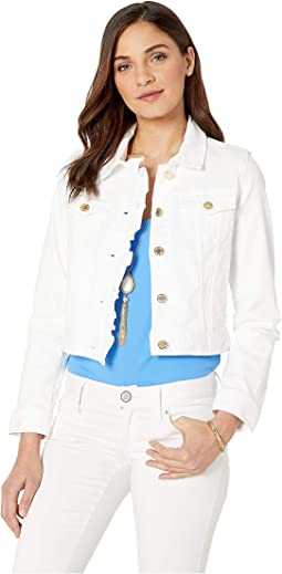Seaspray Denim Ruffle Jacket