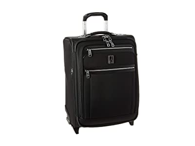 Travelpro Platinum(r) Elite International Expandable Carry-On Rollaboard (Shadow Black) Luggage