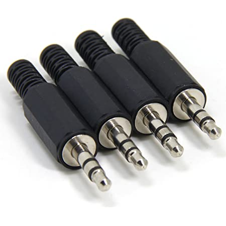 20Stk Löten 3 polig 3,5mm Buchse Kopfhörer Audio Stecker Koppler Anschluss