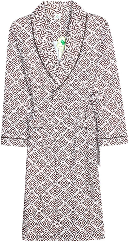 Cotton Nightgowns Men's Long Japanese-style Bathrobe Bathrobe
