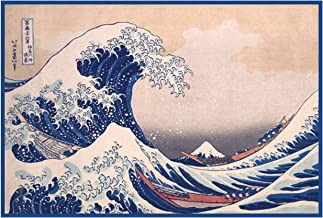 great wave cross stitch pattern