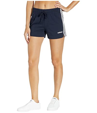 adidas Essential 3-Stripes Shorts (Legend Ink/White) Women
