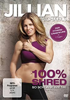 Jillian Michaels - 100% Shred: So schlank wie nie