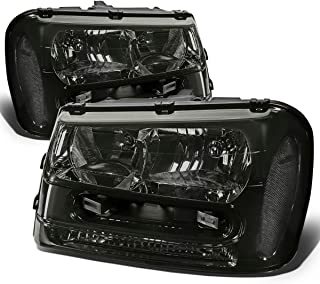 DNA Motoring Smoked clear HL-OH-TRA02-SM-CL1 Headlight Assembly (Driver & Passenger Side)