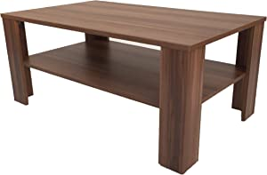 Coffee Table (Bea)/Walnut (Imitation) Walnut Effect.