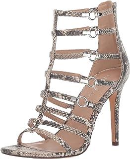 BCBGeneration Women's Jean Caged Dress Sandal Heeled, Natural, 10 M US