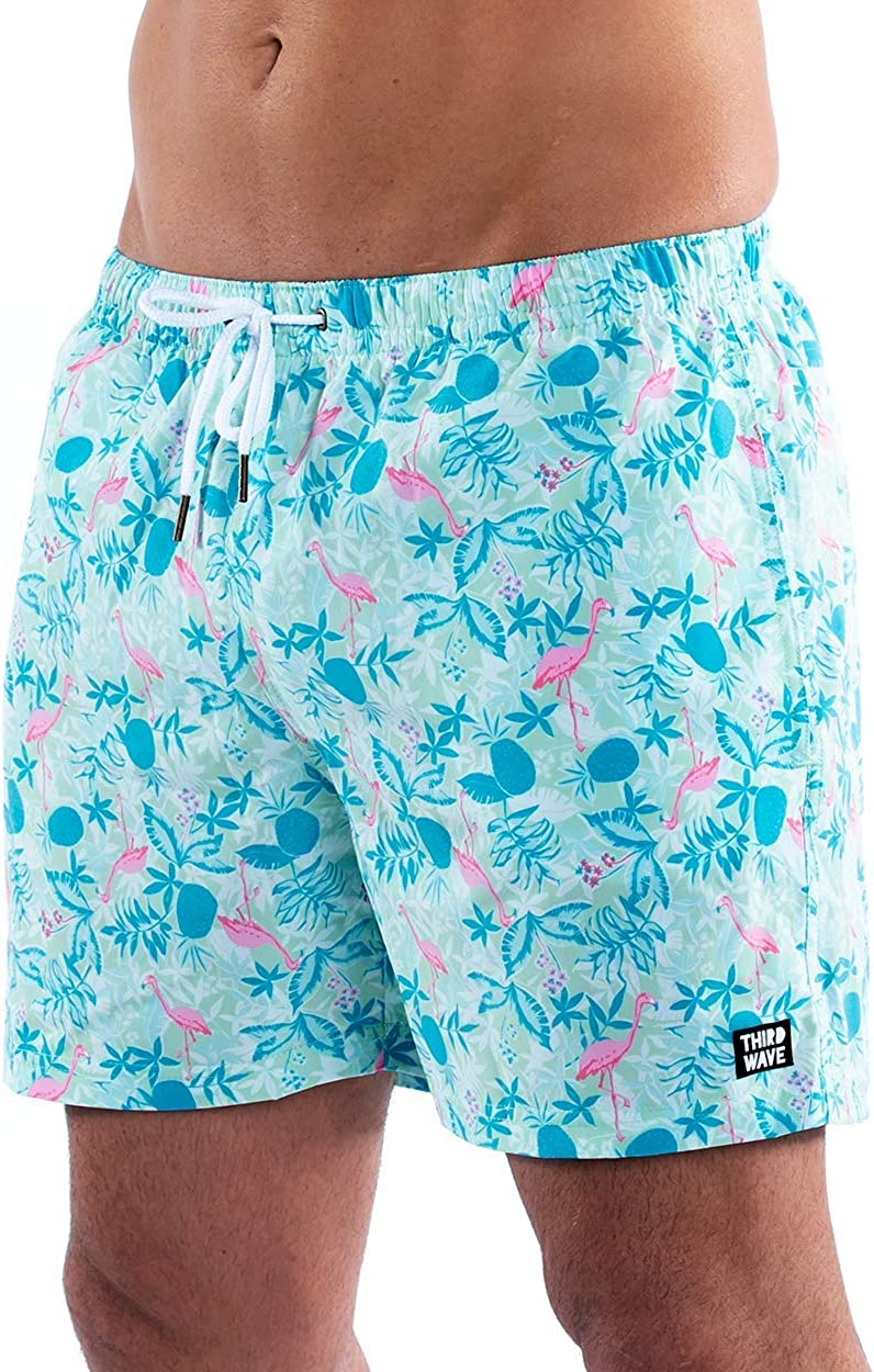 Third Wave Premium Swim Trunks - Men's Quick Inseam Dry free shipping S Large discharge sale Inch 5