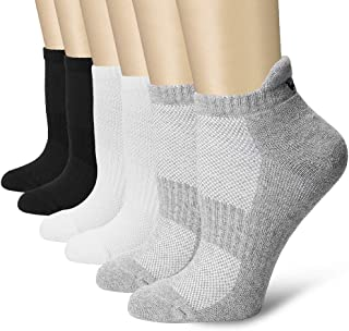Ankle Compression Socks(3/6/7 Pairs) for Women & Men, Circulation - Best for Running Athletic Cycling - 15-20 mmHg