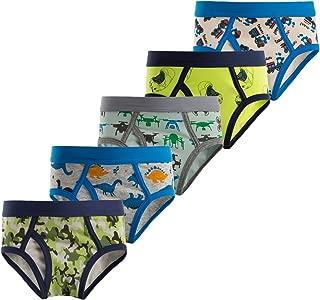 Boys Underwear Toddler & Little Kids Spandex Cotton Print Briefs 5 of Pack