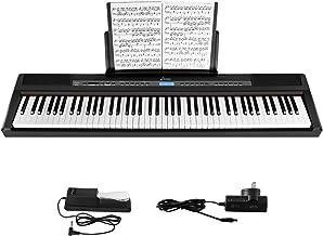 Donner DEP-20 Beginner Digital Piano 88 Key Full Size Weight