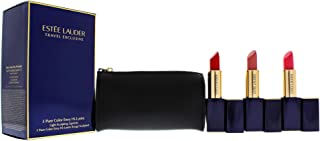 Estee Lauder 3 Pure Color Envy Hi-Lustre Lipsticks Set, 4 count