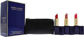 Estee Lauder 3 Pure Color Envy Hi-Lustre Lipsticks Set, 4 count