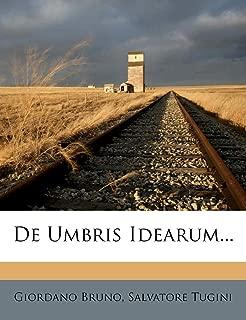 De Umbris Idearum... (Latin Edition)