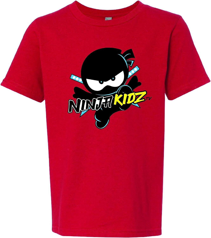 Ninja Kidz Official Original Logo Tee- Dress Your Ninja Kid in Cool Gear!