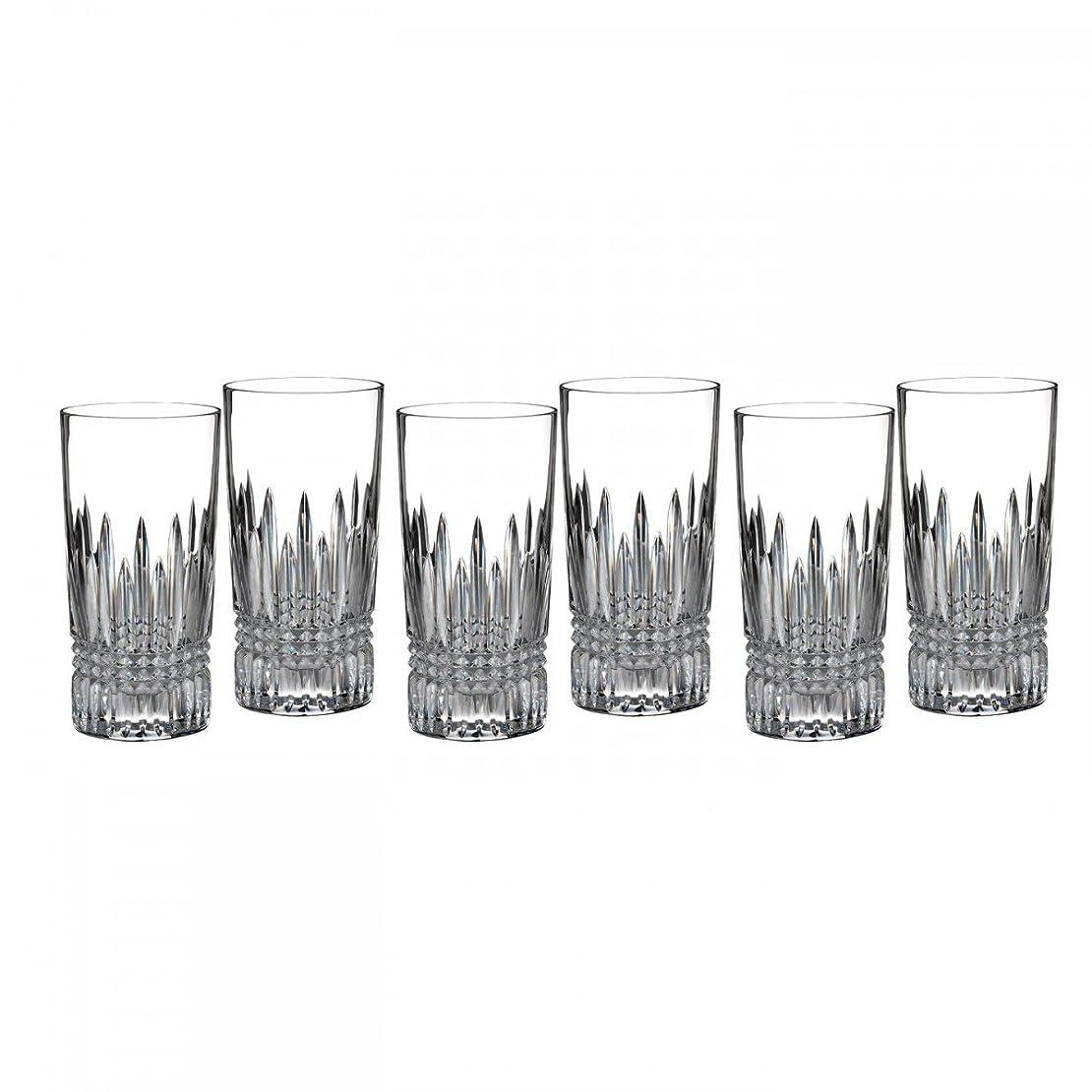 モジュール一杯タイトルLismoreダイヤモンドタンブラーグラスガラス( Set of 6?)