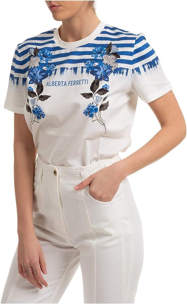 Alberta ferretti ,t-shirt,maglietta per donna donna,100% cotone A070116591288
