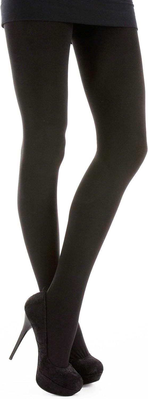 Silky Ladies/Womens Textures Acrylic Plain Tights (1 Pair)