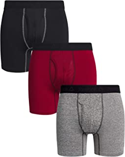 Reebok Mens Performance Boxer Briefs - 3 Pack