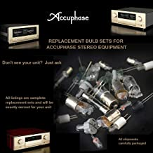Accuphase P-266 Front Panel Replacement Bulbs - Complete Set