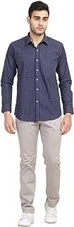 GENTINO Cotton Full Sleeve Formal Shirt for Mens