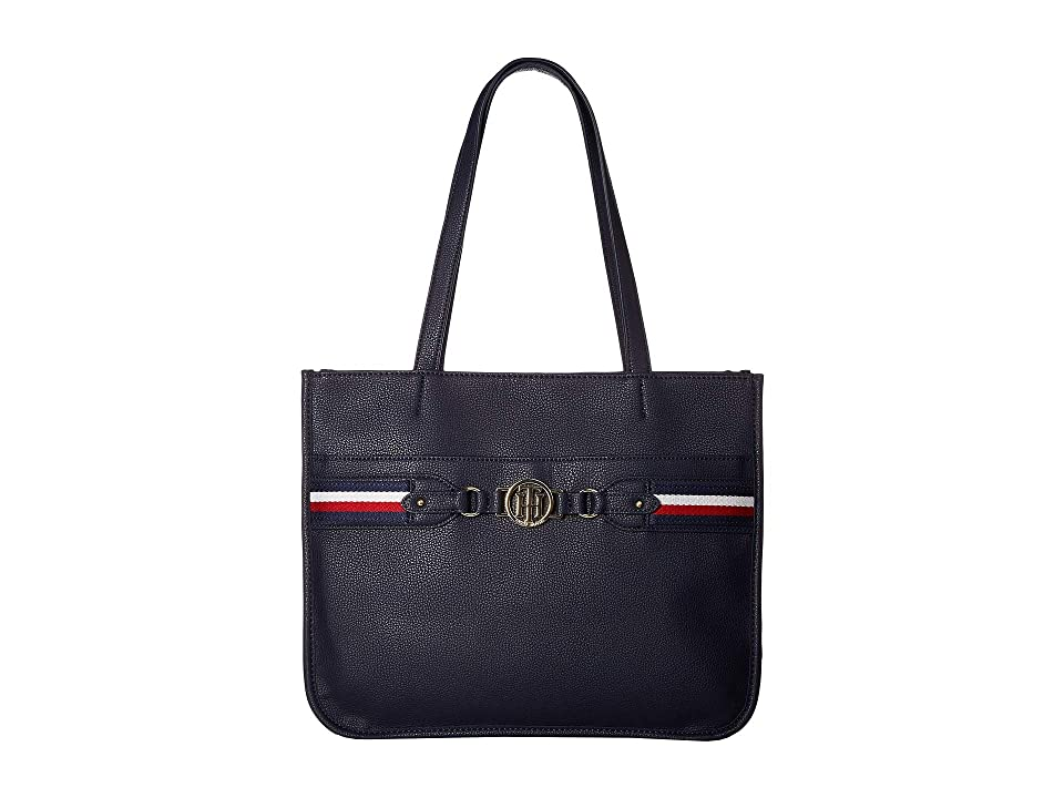 Tommy Hilfiger Brice Tote (Tommy Navy) Tote Handbags