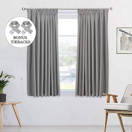 Grey Bedroom Curtains: Amazon.co.uk
