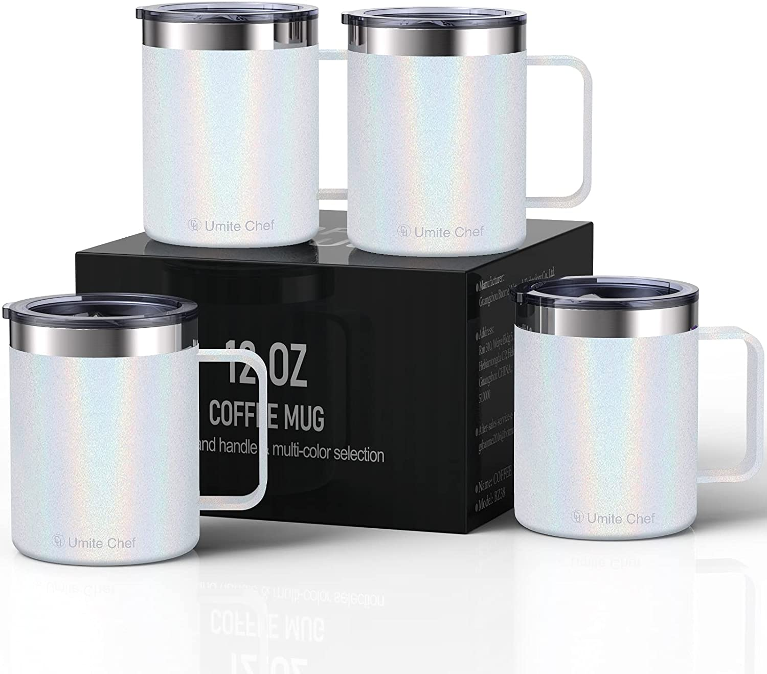 Umite Fixed price for sale Chef Stainless Steel Insulated Mug Coffee Tumbler Han with Selling rankings