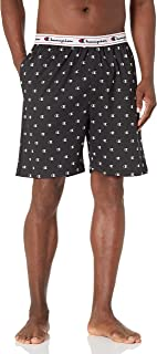 Champion Men's Jersey Printed Sleep Shorts Pajama Bottom