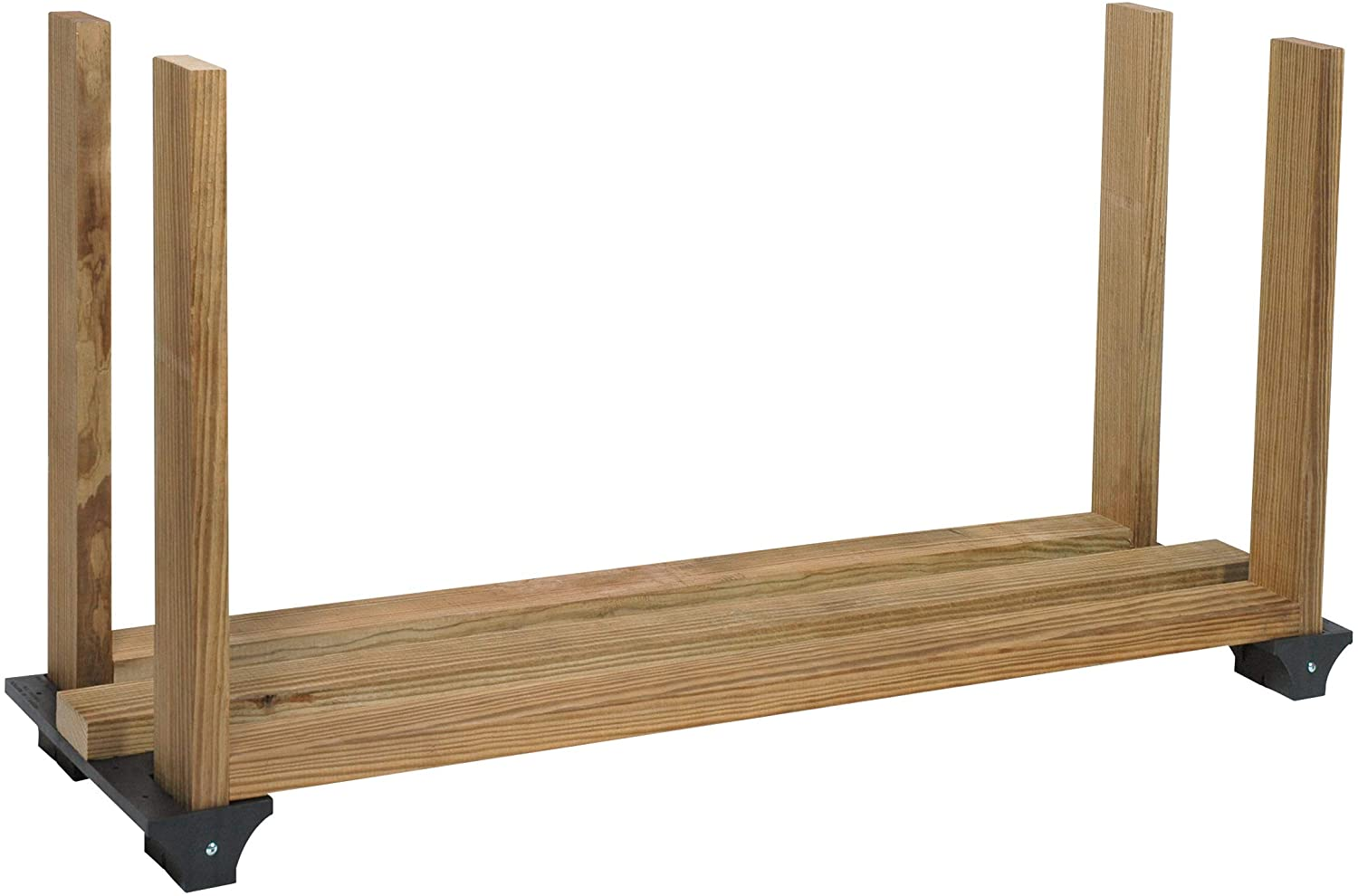 We OFFer at cheap prices store 2x4basics 90144 Firewood Rack System Black