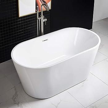 WOODBRIDGE 59'' Acrylic Freestanding Tub