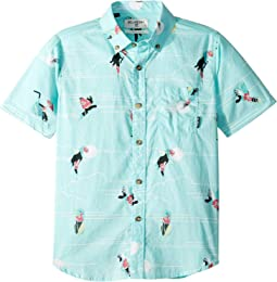 Sundays Mini Short Sleeve Shirt (Big Kids)