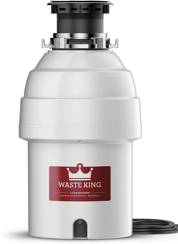 Waste King L-8000 Legend Series 1HP Garbage Disposal $91.02 Coupon
