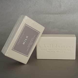 K Hall Milk Milled Triple Milled Shea Butter Soap 8 oz