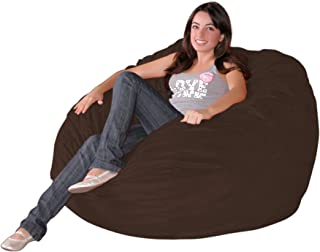 Cozy Sack 3-Feet Bean Bag Chair, Medium, Chocolate