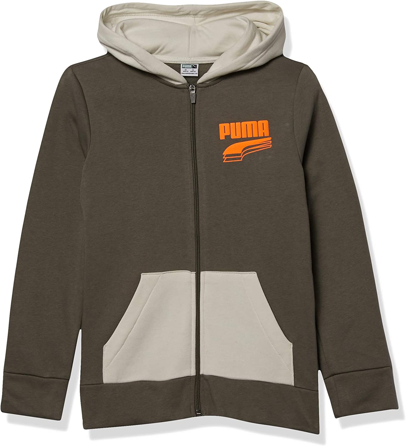 PUMA Boys' unisex Zip Hoodie Special price for a limited time Up