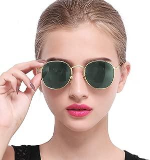 Vintage Round Sunglasses for Women Retro Brand Polarized Sun Glasses E3447