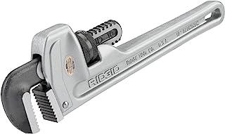 RIDGID 31090 Model 810 Aluminum Straight Pipe Wrench, 10-inch Plumbing Wrench