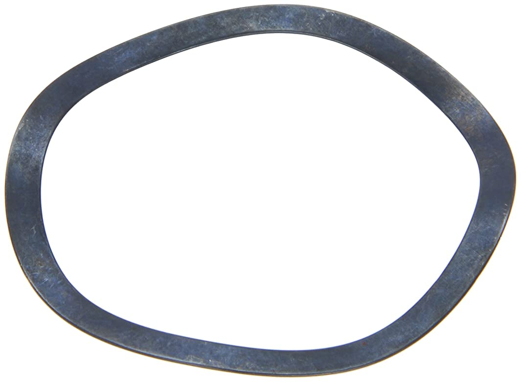Compression Type Wave Washer, Carbon Steel, 4 Waves, Inch, 2.402