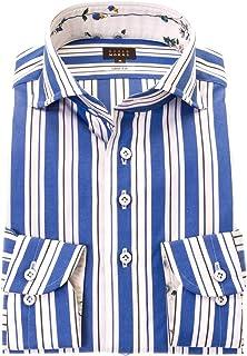 ドレスシャツ カッターシャツ シャツ STYLE WORKS (スタイルワークス) ワイシャツ 長袖 綿100% カッタウェイ ワイシャツ メンズ 柄シャツ 派手シャツ|RWD116-253