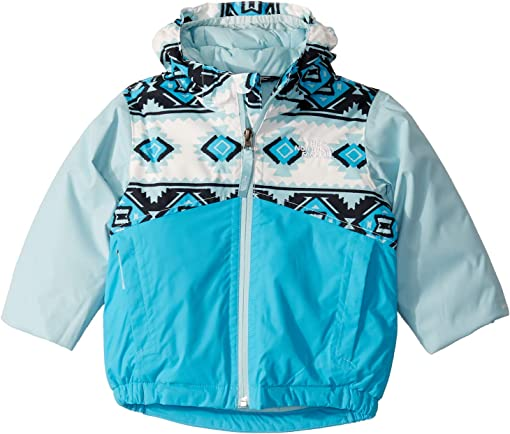 TNF White Tribal Geo Print