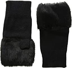 Fur Hand Warmer with Solid Fur
