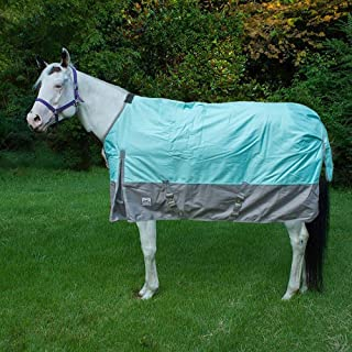 Chicks Saddlery Rugged Ride 1200 Denier Waterproof Turnout Sheet - with Grey Skirt