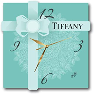 Art time production World Fashion Brand 11'' Handmade Wall Clock - Get Unique décor for Home or Office – Best Gift Ideas for Kids, Friends, Parents and Your Soul Mates