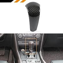 Cuztom Tuning Fits for 2015-2017 Mazda 3/6/CX-5/CX-9 Add-on Real Carbon Fiber Shift knob Auto Gear Cover